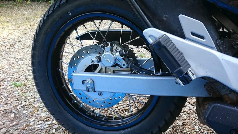 Transalp wheels – total rebuild